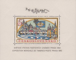 Czechoslovakia Scott 1134 1962 Praga 62 Souvenir Sheet, Mint Never Hinged - Czechoslovakia