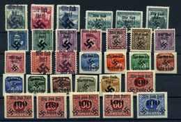 B+M LOKALAUSGABEN Lot Siehe Beschreibung (109797) - Occupation 1938-45