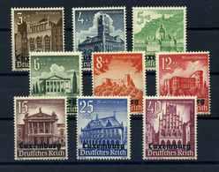 II. WK. LUXEMBURG 1941 Nr 33-41 Postfrisch (109809) - Occupation 1938-45