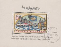 Czechoslovakia Scott 1134 1962 Praga 62 Souvenir Sheet, Used - Czechoslovakia