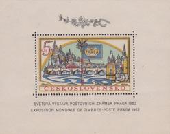 Czechoslovakia Scott 1134 1962 Praga International Stamp Expo, Souvenir Sheet, Mint Never Hinged - Czechoslovakia
