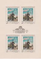 Czechoslovakia Scott 1484 1967 Henry Rousseau, Sheetlet, Mint Never Hinged - Blocks & Sheetlets
