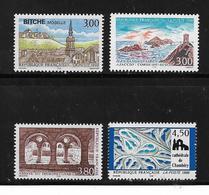 France   Timbres De 1996  N°3018 A 3021 Série Touristique  Neufs ** Vendu A  La Valeur Faciale - France