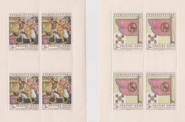 Czechoslovakia Scott 1626-1627 1969 Prague Castle Treasures, Sheetlet, Mint Never Hinged - Czechoslovakia