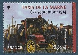 4899 Taxis De La Marne (2014) Neuf** - Neufs