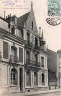 CPA   45   ORLEANS---MAISON MODERNE, RUE ALSACE LORRIANE---1907---RARE ? - Orleans