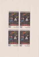 Czechoslovakia Scott 1810 1972 Graphic Art, Woman Dressing, Sheetlet, Mint Never Hinged - Blocks & Sheetlets