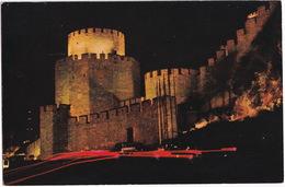 Istanbul - Night View Of Rumelihisar (Fortress) - (Türkiye) - Turkije