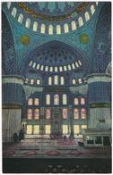 Istanbul - Sultan Ahmet Camiinin - Interior Of The Blue Mosque - (Türkiye) - Turkije