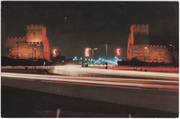Istanbul - A Night View Of Topkapi Ramparts - (Türkiye) - (1964) - Turkije