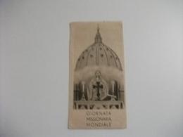 GIORNATA MISSIONARIA MONDIALE PIEGHE - Santini