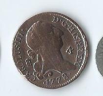4 Maravedis Charles IIII 1777 Ségovie - Provincial Currencies