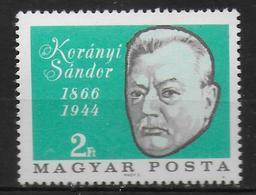 HONGRIE      N° 1842  * *  Sandor Korany Docteur - Medicina