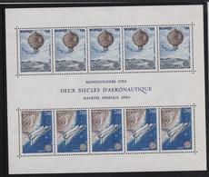Monaco 1983, S/s Space, Miblock 23, MNH. Cv 15 Euro - Blocs