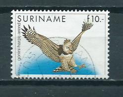 1986 Suriname Birds,oiseaux,vogel F10 Used/gebruikt/oblitere - Suriname