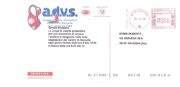 A.D.V.S. ASSOCIAZIONE DONATORI VOLONTARI SANGUE - Affrancature Meccaniche Rosse (EMA)