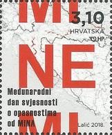 HR 2018-1311 MINE, HRVATSKA CROATIA, 1 X 1v, MNH - Croatie
