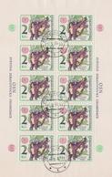 Czechoslovakia Scott 2080 1976 Fight Against Smoking, Sheetlets, Used - Blocks & Sheetlets