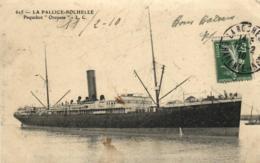 """17 - Cgarente Maritime - La Pallice-Rochelle - Paquebot  """" Oropesa """" C 4019 - La Rochelle"""
