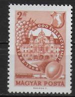 HONGRIE      N° 1955  * *  Raisin Kecskemet - Vins & Alcools