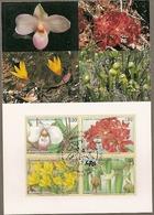 United Nations & Maxi, Vereinte Nationen, Flora, Flowers, Endangered Species, UNO  Geneve 1996 (158) - Genf - Büro Der Vereinten Nationen