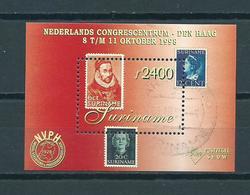 1998 Suriname Complete M/Sheet NVPH Stamp Show Used/gebruikt/oblitere - Suriname