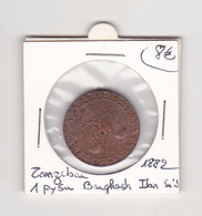 Zanzibar  1 Pysa Barghash Ibn Sa'id 1882 - Monnaies