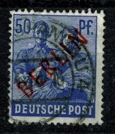 Ref 1270 - 1949 Germany Berlin SG B30 - 50pf Pictorial - Used Stamp Cat £38+ - [5] Berlin
