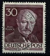 Ref 1270 - 1952 Germany Berlin SG B99 - Planck (Physicist) 30pf - Fine Used Stamp Cat £13+ - [5] Berlin