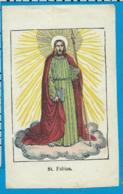 Holycard    St. Fabian - Santini