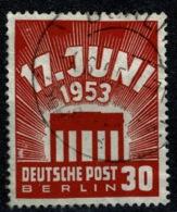 Ref 1270 - 1953 Germany Berlin SG B111 - East Uprising 30pf - Fine Used Stamp Cat £49+ - [5] Berlin