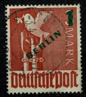 Ref 1270 - 1949 Germany Berlin SG B67 - 1mark On 3mark - Fine Used Stamp Cat £30+ - [5] Berlin
