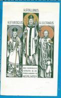 Holycard    St. Furseus   Foillanus   Ultranus  Neerlinter - Devotion Images