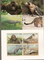 United Nations & Maxi, Vereinte Nationen, Endangered Species, Fauna, Animals, UNO Geneve 1993 (142) - Briefe U. Dokumente