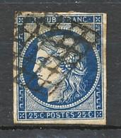 TIMBRE - FRANCE - Ceres  - Repub Franc - 1849-1850 Cérès