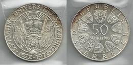 AUSTRIA 1972 - SALIZBURG - 50 Schilling SPL / FDC - Argento / Argent / Silver - Confezione In Bustina - Austria