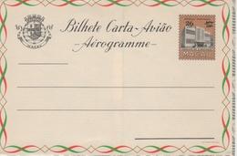 Portugal Province (China), 1957 MACAO. Aerogramme, Air Letter. H&G F6 MINT II - Macau