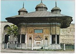 Istanbul - Ahmet III Fountain -  (Türkiye) - Turkije