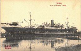 Carte  Postale Ancienne De TONKIN  - Paquebot Gange - Vietnam