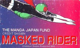 Télécarte Japon * MANGA * Comics * MASKED RIDER  (16.781)  Japan PHONECARD * TELEFONKARTE * CINEMA * FILM - BD