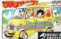 Télécarte Japon * MANGA * Comics * DRAGON BALL  (16.783)  Japan PHONECARD * TELEFONKARTE * CINEMA * FILM - BD