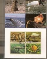 United Nations & Maxi, Vereinte Nationen, Endangered Species, Fauna, Birds UNO Geneve 1994 (150) - Briefe U. Dokumente