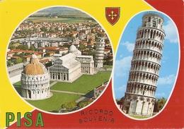 11/FG/19 - PISA - Vedutine (targhetta Del Festival Nazionale Dell'Unità 1982) - Pisa