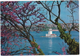 Istanbul - The View Of The Leander's Tower Throught Of The Judea's Trees -  (Türkiye) - Turkije