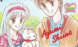 Télécarte Japon * MANGA * Comics * RIBON  (16.788)  Japan PHONECARD * TELEFONKARTE * CINEMA * FILM - BD