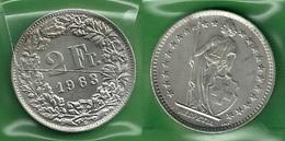 SVIZZERA 1963 - Helvetia - 2 Fr / CHF - SPL / FDC  - Argento / Argent / Silver - Confezione In Bustina - Svizzera