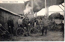 Wavans : Batteuse à Trèfle - France