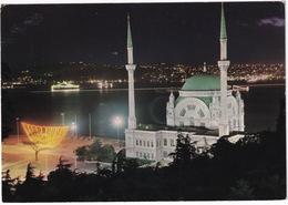 Istanbul - Vue Nocturne De La Mosquée Dolmabahce -  (Türkiye) - Turkije