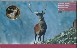 SVIZZERA 2009 - NazionalPark - DIVISIONALE FDC - N.° 9 Pezzi - Con 5 + 10 CHF (Fr. Sv.) - Confezione Originale  (3 Foto) - Svizzera