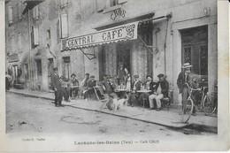 LACAUNE Les BAINS  ( Tarn) : Central Café CROS  Avec Superbe Terrasse - France